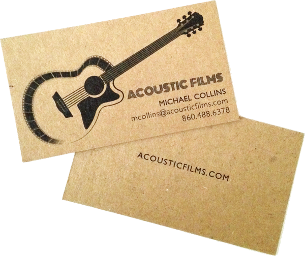 Acoustic Films Cards